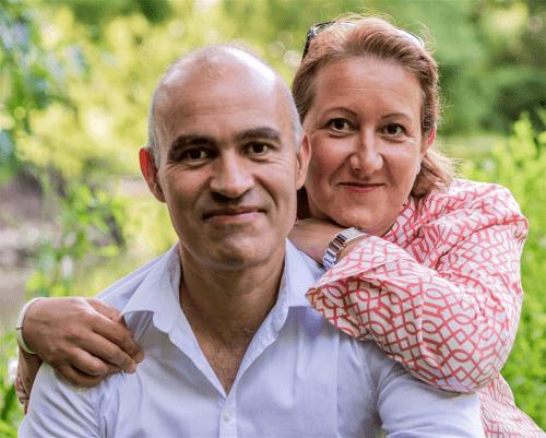 Marc et Valérie Hoareau