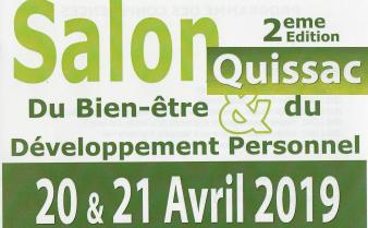 Salon du Bien-être de Quissac des 20 et 21 avril